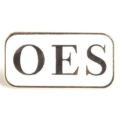 3 Letter Lapel Pin - OES