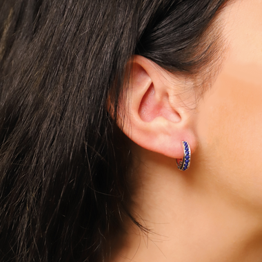 TI SENTO - Milano Earrings 7764BL in use