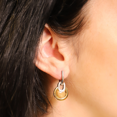 TI SENTO - Milano Earrings 7795TY in use
