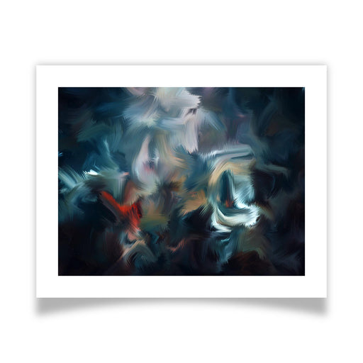 Graffiti Night Art Print - [border]