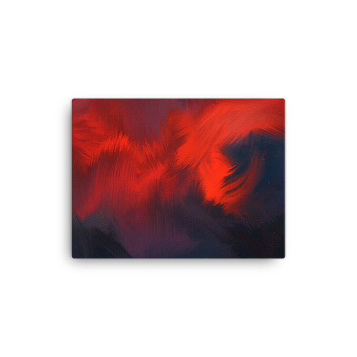 Lava Lava Art Print - Stretched Canvas / No Frame / 16×12