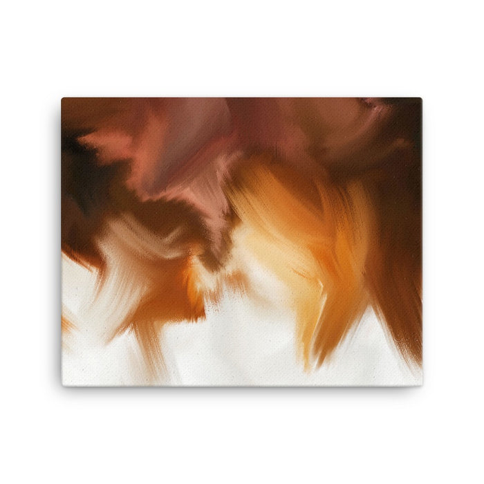 Crisp Edges Art Print - Stretched Canvas / No Frame / 20×16