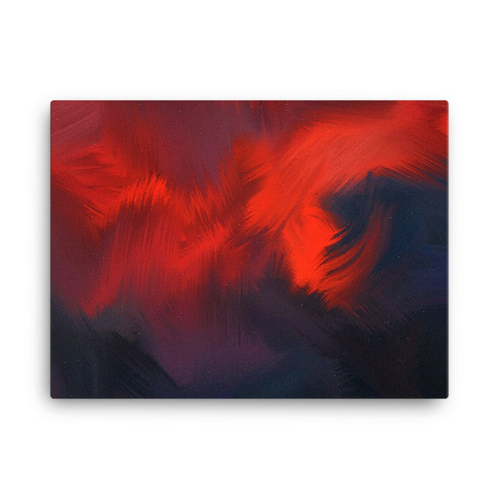 Lava Lava Art Print - Stretched Canvas / No Frame / 24×18