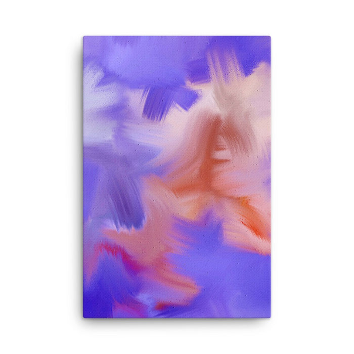 Pretty Party Art Print - Stretched Canvas / No Frame / 24×36