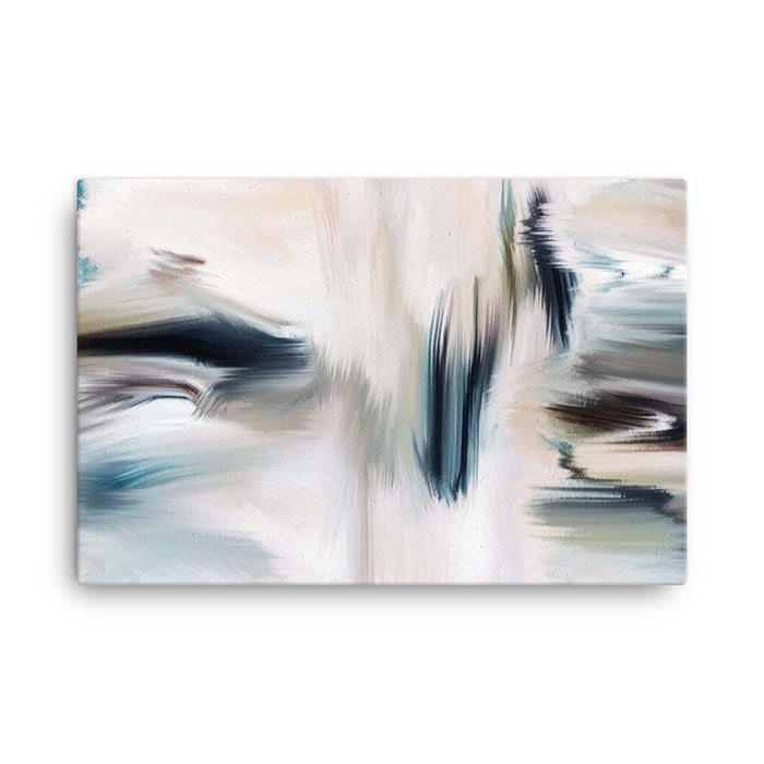 Cubicles Art Print - Stretched Canvas / No Frame / 36×24