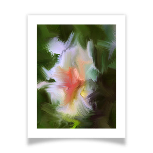 Gentle Bud Art Print - [border]