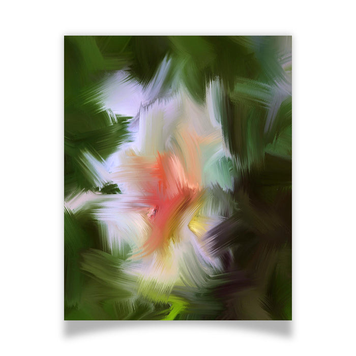 Gentle Bud Art Print