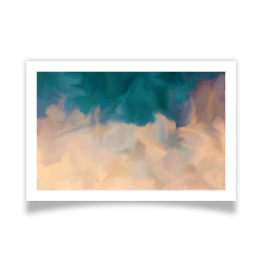 Community Sky Art Print - [border]