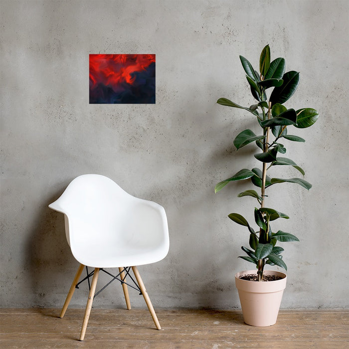 Lava Lava Art Print - Enhanced Matte Print / No Frame / 16×12