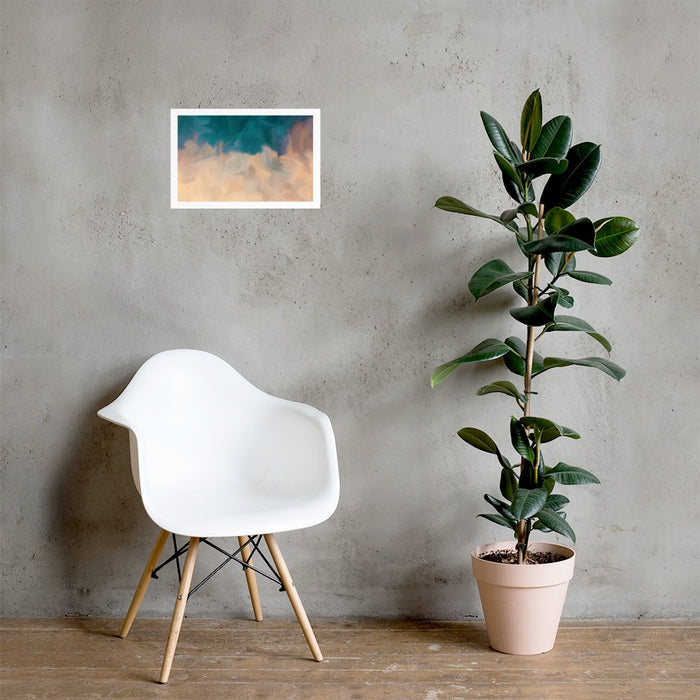 Community Sky Art Print - Enhanced Matte Print - White Border / No Frame / 18×12