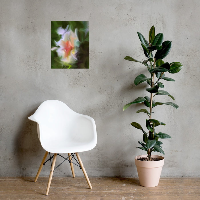 Gentle Bud Art Print - Enhanced Matte Print / No Frame / 16×20