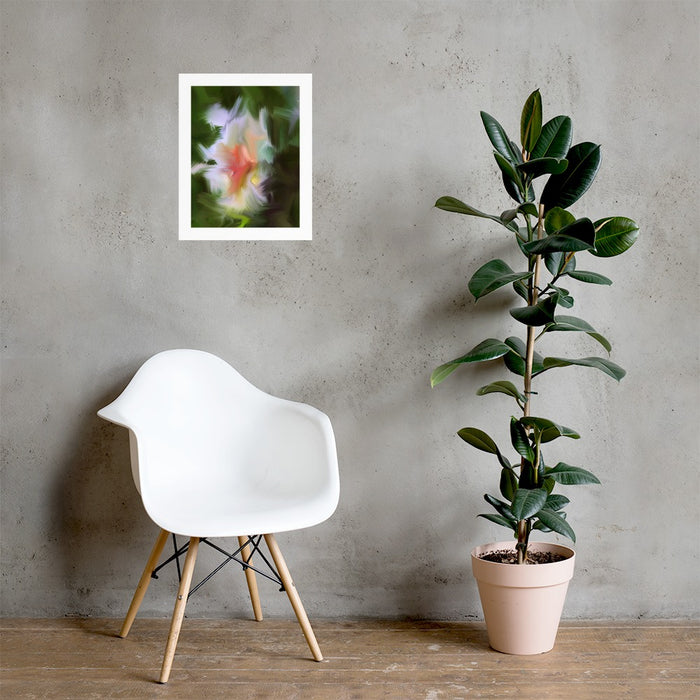 Gentle Bud Art Print - Enhanced Matte Print - White Border / No Frame / 16×20