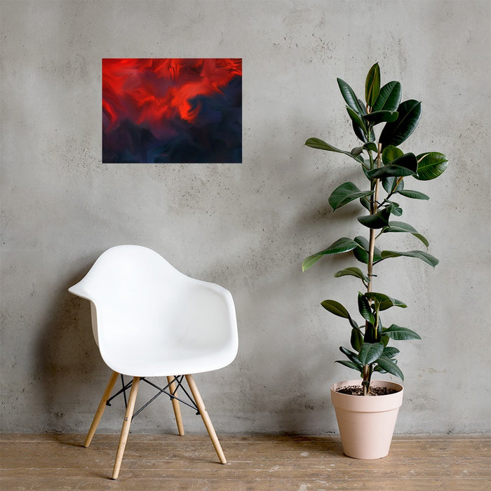 Lava Lava Art Print - Enhanced Matte Print / No Frame / 24×18