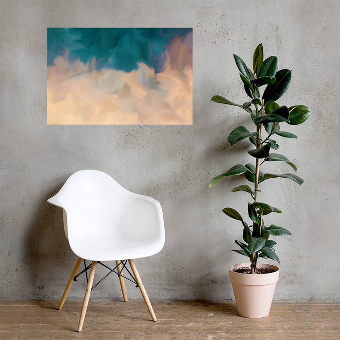 Community Sky Art Print - Enhanced Matte Print / No Frame / 36×24