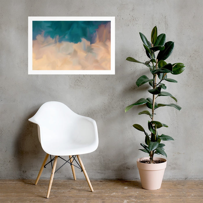 Community Sky Art Print - Enhanced Matte Print - White Border / No Frame / 36×24