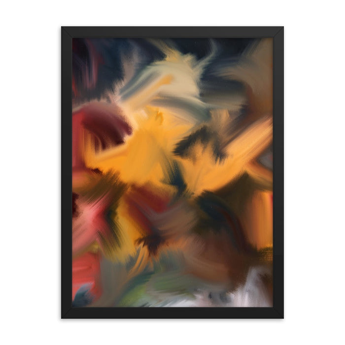 Samurai Block Art Print - Enhanced Matte Print / Frame / 18×24