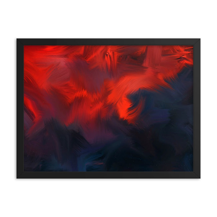 Lava Lava Art Print - Enhanced Matte Print / Frame / 24×18