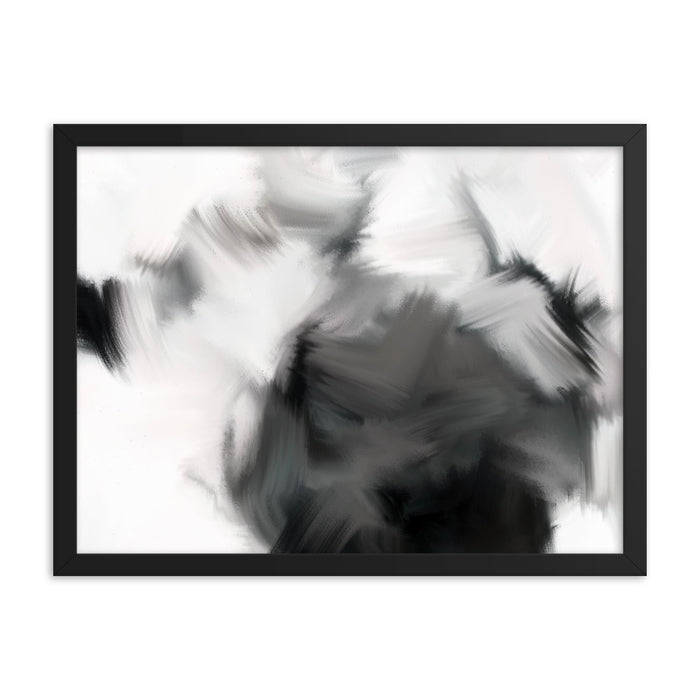 Good Versus Good Art Print - Enhanced Matte Print / Frame / 24×18