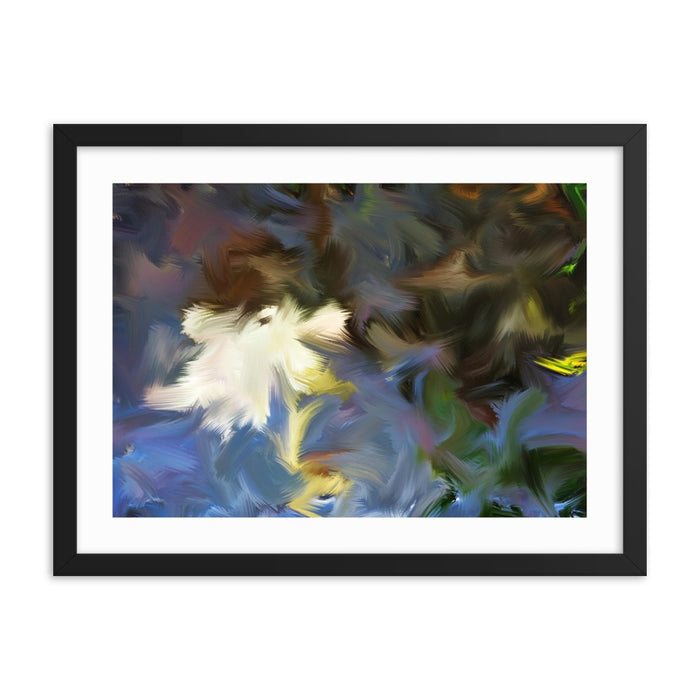 Riversong Art Print - Enhanced Matte Print - White Border / Frame / 24×18