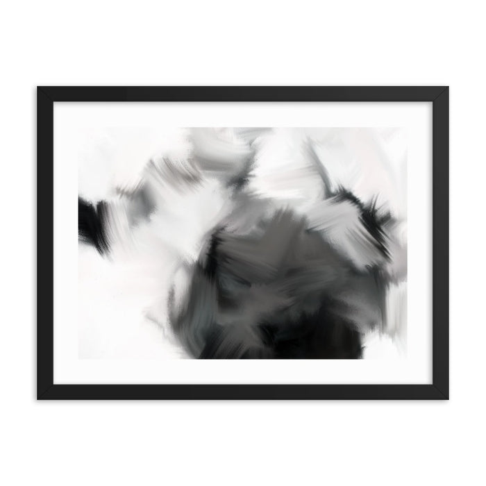 Good Versus Good Art Print - Enhanced Matte Print - White Border / Frame / 24×18