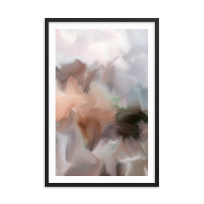 Lazy Sunday Art Print - Enhanced Matte Print - White Border / Frame / 24×36