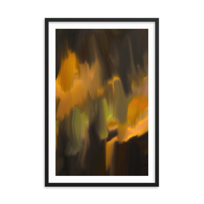 Mystic Applause Art Print - Enhanced Matte Print - White Border / Frame / 24×36