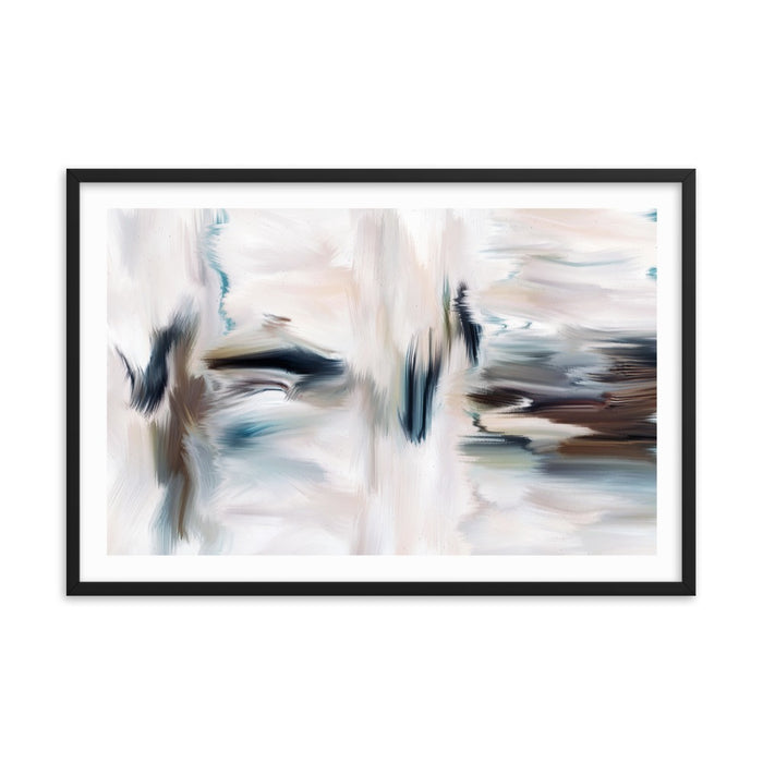 Cubicles Art Print - Enhanced Matte Print - White Border / Frame / 36×24