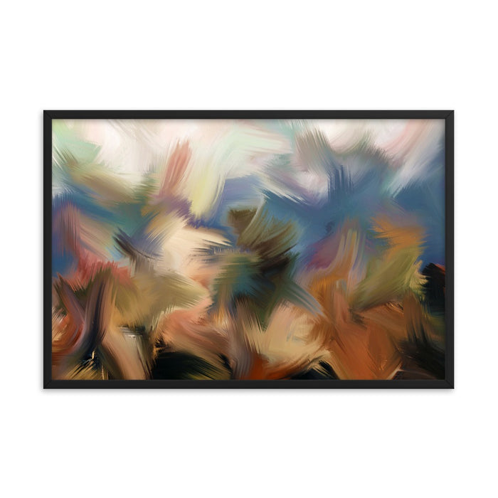 Rainforest Art Print - Enhanced Matte Print / Frame / 36×24