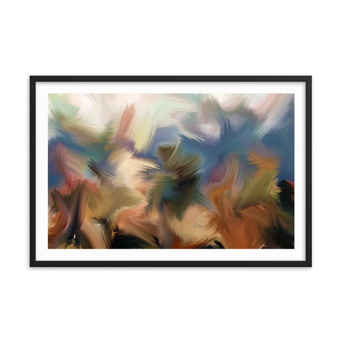Rainforest Art Print - Enhanced Matte Print - White Border / Frame / 36×24