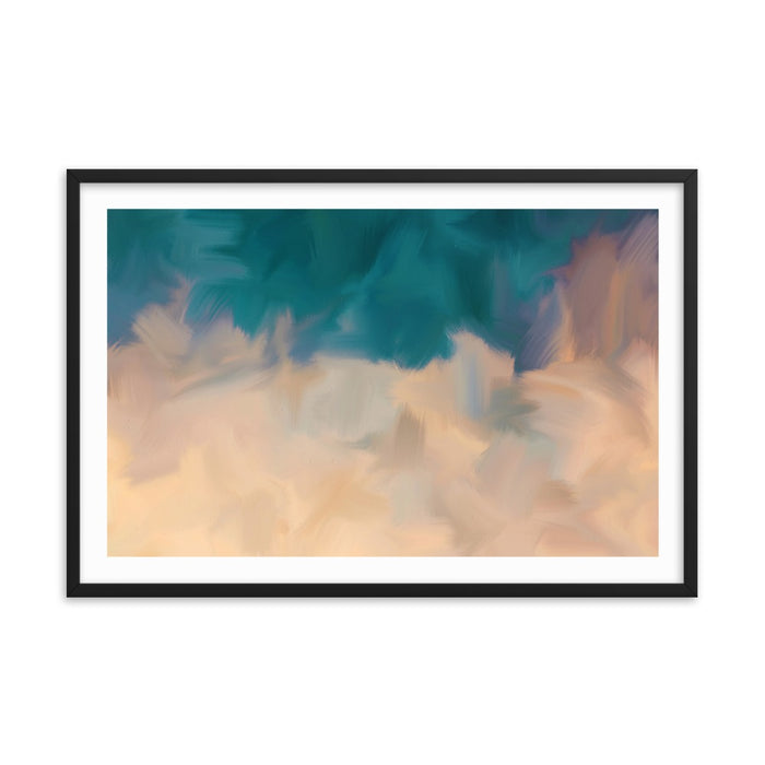Community Sky Art Print - Enhanced Matte Print - White Border / Frame / 36×24