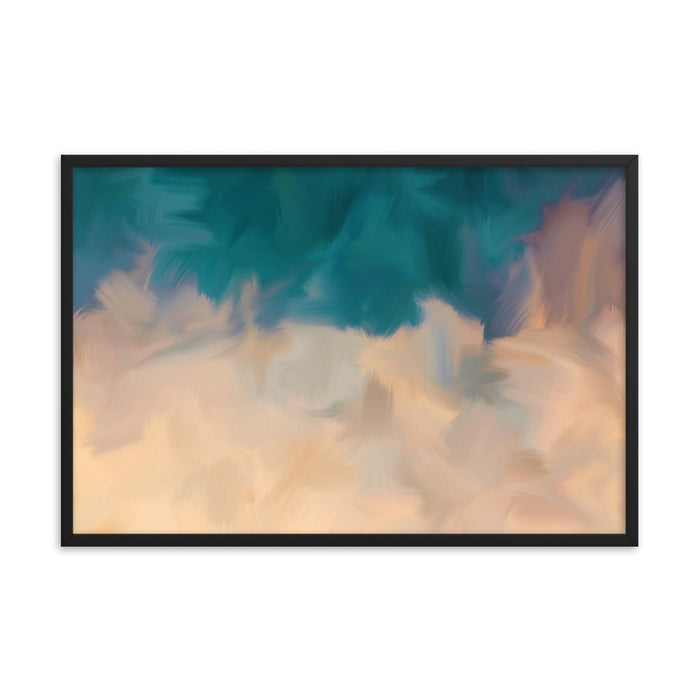 Community Sky Art Print - Enhanced Matte Print / Frame / 36×24