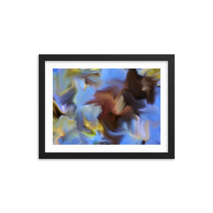 Spring Twigs Art Print - Enhanced Matte Print - White Border / Frame / 16×12
