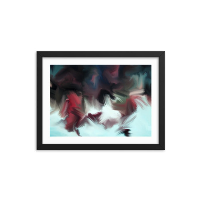 Blackberry Jam Art Print - Enhanced Matte Print - White Border / Frame / 16×12