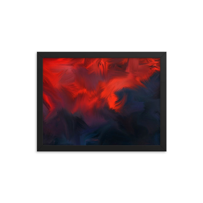 Lava Lava Art Print - Enhanced Matte Print / Frame / 16×12