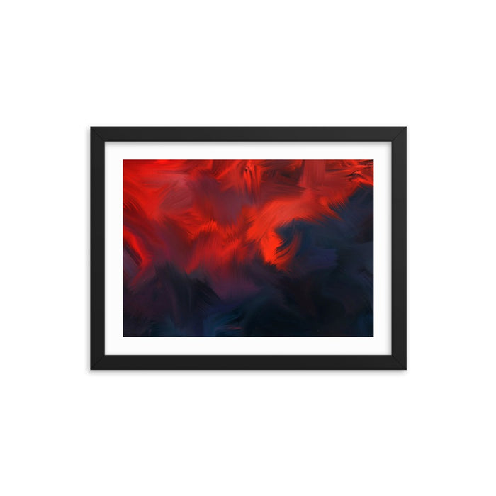 Lava Lava Art Print - Enhanced Matte Print - White Border / Frame / 16×12