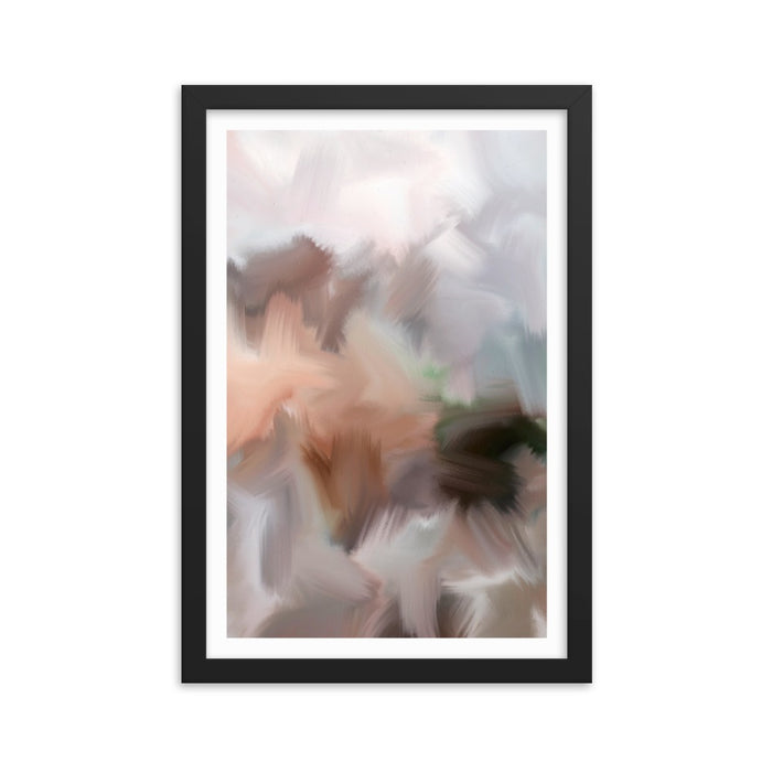 Lazy Sunday Art Print - Enhanced Matte Print - White Border / Frame / 12×18