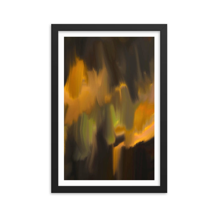 Mystic Applause Art Print - Enhanced Matte Print - White Border / Frame / 12×18
