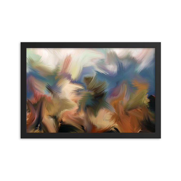 Rainforest Art Print - Enhanced Matte Print / Frame / 18×12