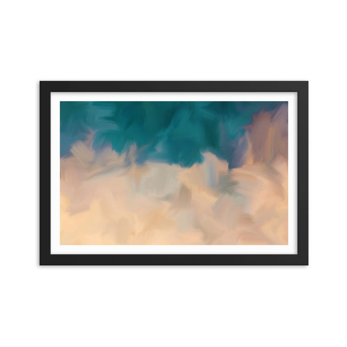 Community Sky Art Print - Enhanced Matte Print - White Border / Frame / 18×12
