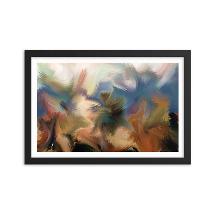 Rainforest Art Print - Enhanced Matte Print - White Border / Frame / 18×12