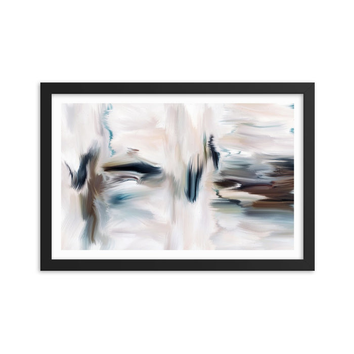 Cubicles Art Print - Enhanced Matte Print - White Border / Frame / 18×12