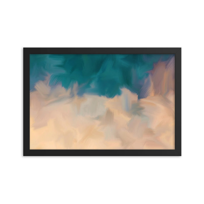 Community Sky Art Print - Enhanced Matte Print / Frame / 18×12