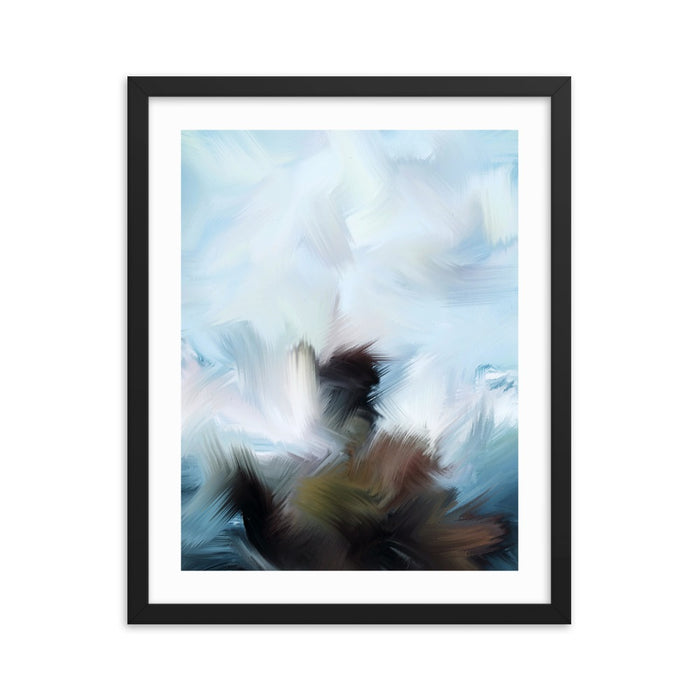 Oldstone Art Print - Enhanced Matte Print - White Border / Frame / 16×20