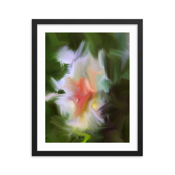 Gentle Bud Art Print - Enhanced Matte Print - White Border / Frame / 16×20