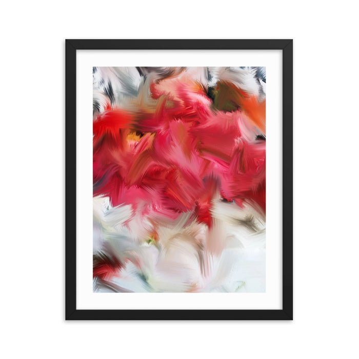 Layer Cake Art Print - Enhanced Matte Print - White Border / Frame / 16×20