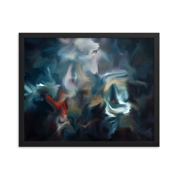 Graffiti Night Art Print - Enhanced Matte Print / Frame / 20×16