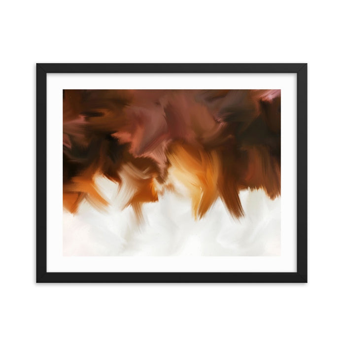 Crisp Edges Art Print - Enhanced Matte Print - White Border / Frame / 20×16