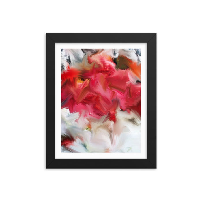 Layer Cake Art Print - Enhanced Matte Print - White Border / Frame / 8×10