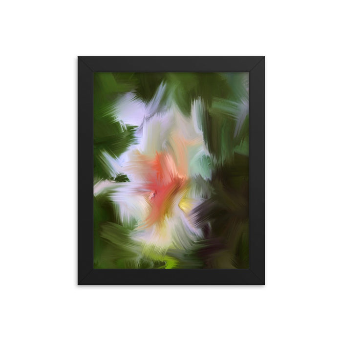 Gentle Bud Art Print - Enhanced Matte Print / Frame / 8×10