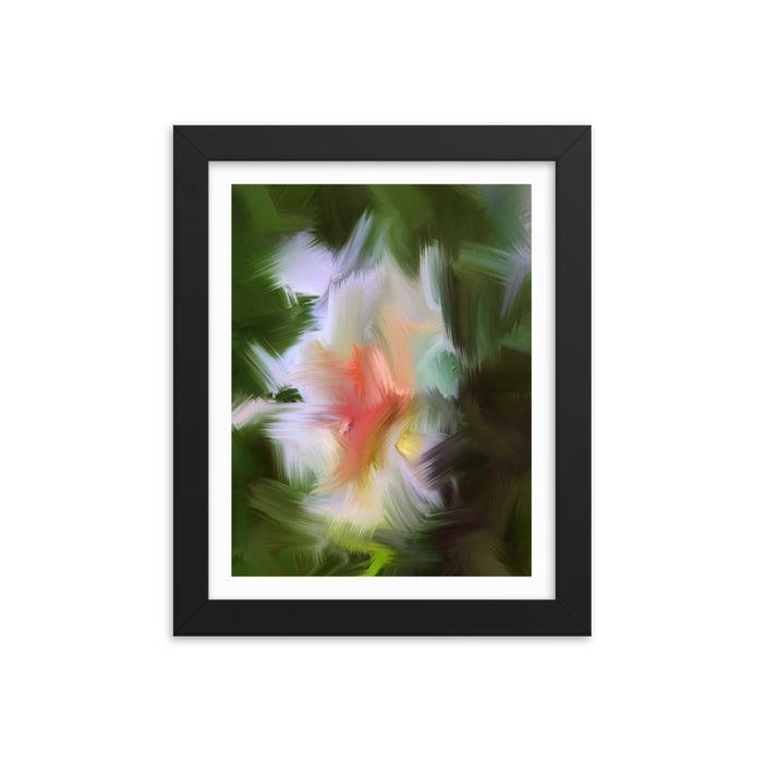 Gentle Bud Art Print - Enhanced Matte Print - White Border / Frame / 8×10